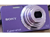 sony 16.1 cyber shot camera in v good condition.