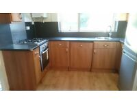 Full kitchen units including appliances