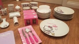 Hello Kitty China Dinner Set