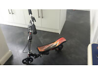 Black Space Scooter