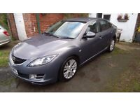 2008 new shape MAZDA 6 TS2 2.0D 5 DR HATCH IN SUPERB ORDER THROUGHOUT. BARGAIN