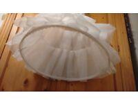 Wedding Dress Hoop Underskirt Size 8, 5ft 3