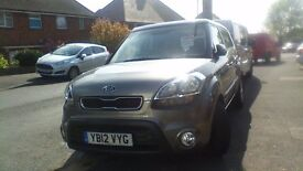 KIA SOUL 2 CRDI, AUTOMATIC, 2012, FULL DEALER SERVICE HISTORY, 20400 MILES, DIESEL, TWO OWNERS