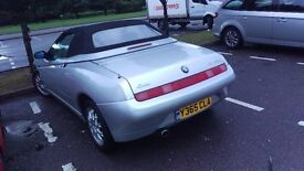 Twin Spark Spider Project or Spares and Repairs