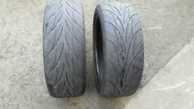 215 45 17 nct tyres part worn 4-5mm