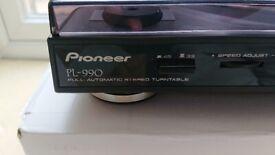Pioneer PL990 Turntable