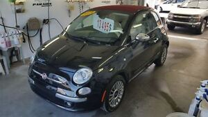 2013 Fiat 500C Lounge **convertible**