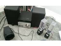 Sony mini hifi and water speakers