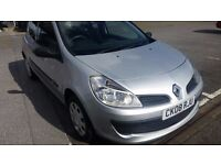 2008 RENAULT CLIO EXTREME DCI 68 SILVER