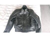 Frank Thomas Leather Jacket size UK 40/ EU 50