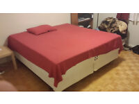 King Size Bed and Memory Foam