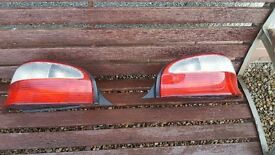 Citroen Saxo rear light units