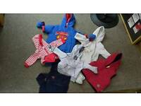 Baby boys coat and hood is bundle 3-6 months