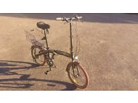 ECOSMO Lightweight 12 kg folding bike, very good condition