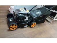 Mcculloch M40-110 Petrol Rotary Push Lawnmower For Garden Lawn + 50L Grass Box