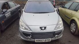 PEUGEOT 307 SW FACELIFT 2007 1.6 PETROL [NFU] FOR BREAKING ALL PARTS AVAILABLE