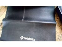 Weight bench mat used cond