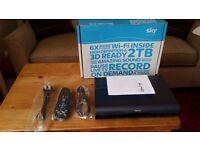SKY PLUS HD BOX 2TB BUILT IN WIFI 3D