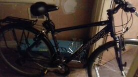 carrera mountain bike for sale in good condition fully working