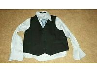 Shirt, waistcoat and tie set, age 3yrs