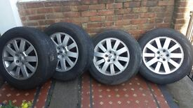 Original Discovery 3 wheels+tyres