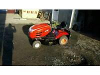 Ride on lawnmower mtd 115