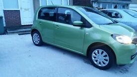 skoda citigo 2013 5 dr hatch 21,800 miles 1.0 petrol 1 previous owner