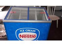 Nestle branded ice cream impulse freezer