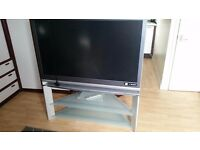 "50"" Sony rear projection tv with stand"