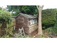 Old Garden Shed Free to a Good Home