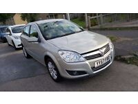 Vauxhall Astra Design 57 plate, 1.6 petrol, sports package, low mileage