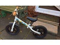 Young childrens 'learner' bike