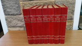 7 BINDER SET OF BRITISH EMPIRE MAGAZINES Great historic reference material in hard copy!
