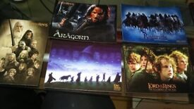 Lord of the Rings postcards