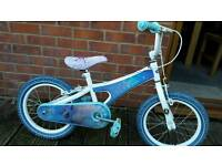 Girls frozen girls bike. Fully serviced at kesgrave mobile cycle repairs.