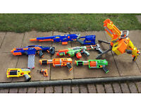 Nerf guns - a collection of!