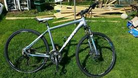 Giant hybrid bike 27 gears