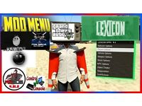 SONY PS3 SLIM 160GB WITH GTA5 AND LEXICON