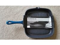 Tesco Finest Cast Iron Grill Pan - BRAND NEW