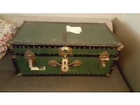 Vintage Suitcase Chest (Real)