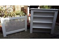 Low price for quick sale: radiator cover / grill with shelves