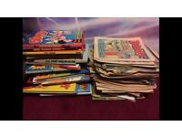 Comics and Annuals from the 70's to 90's
