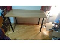 Office table. Barely been used. Price is negotiable. has to go in 2 days