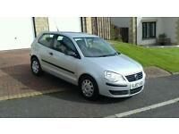 2007 VW POLO 1.2,LONG MOT, LOW MILES, 41,000 , £1895