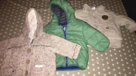 Baby coats 0-3 months