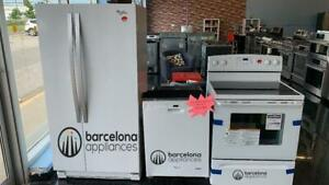 FRIDGE STOVE DISHWASHER $499 each WHEN YOU BUY ALL 3