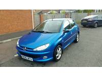 peugeot 206 2.0 hdi 2 former keepers full years mot