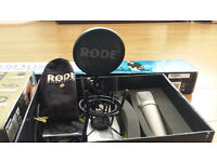 Rode NT1A Vocal Pack Microphone Condenser + Stand
