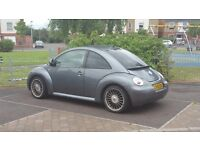 Vw beetle 1.6 for sale no Mot but runs and drives