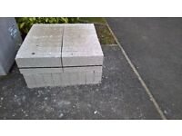 breeze blocks -Tarmac Topcrete Block 7.3N 100mm